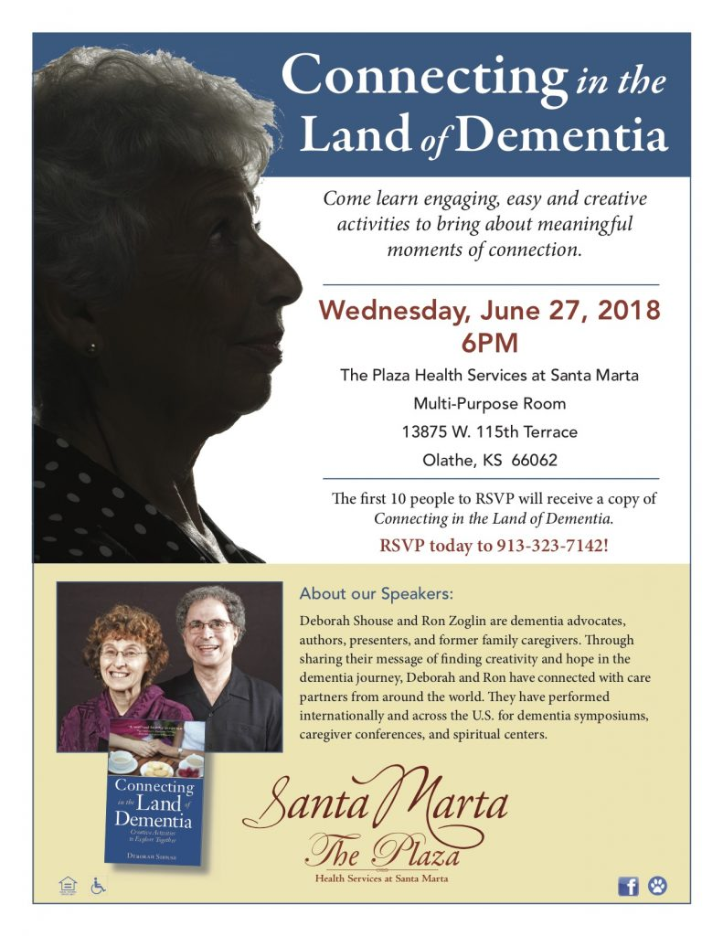 Connected In The Land Of Dementia Easy Ideas And Free Events